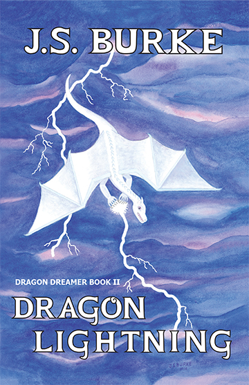 DRAGON LIGHTNING by JS Burke Front Cover 9_20_16 5x7 72dpi